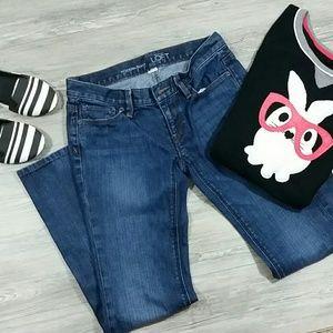 LOFT modern bootcut  jeans